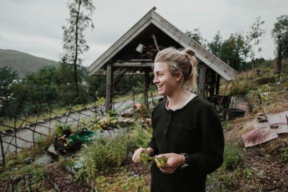 Hun spiser bare planter som kan dyrkes bærekraftig i Norge (men savner kaffe)