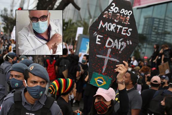 Brasil åpner opp til tross for rekordhøye smittetall: – Vi lider under vår gale president, sier lege