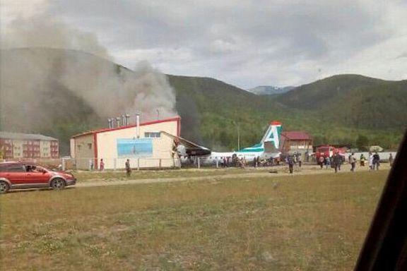 To døde og syv skadet i flyulykke i Russland