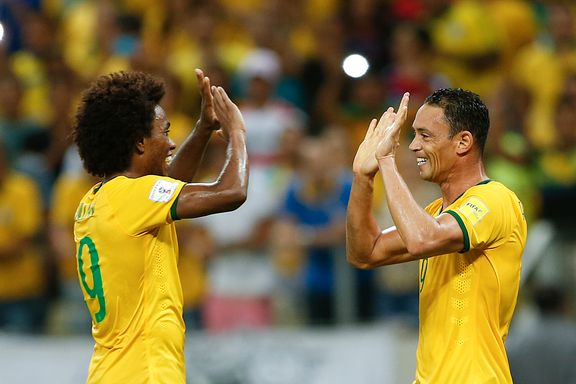 Willian ble Brasil-helten - Argentina sliter uten Messi