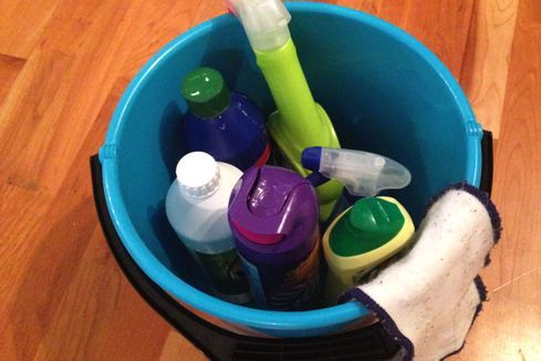 Nå er det snart på tide med en sjau. Dette bør du vaske.