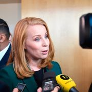 Lööf med krav for å overveie å slippe Löfven frem til statsministerstolen