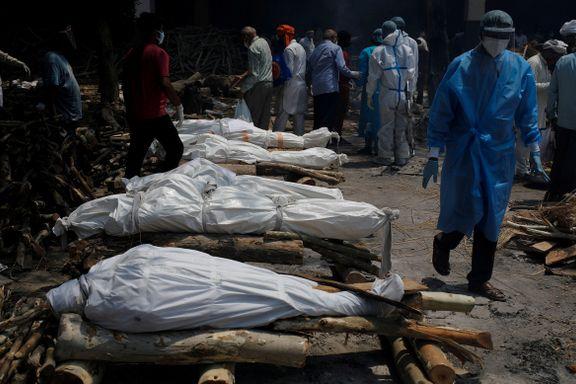 Dødstallene skyter til værs. Nå er indiske journalister redde for å dekke pandemien.