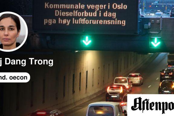 Kjøreforbud virker, men det må være rettferdig   Maj Dang Trong