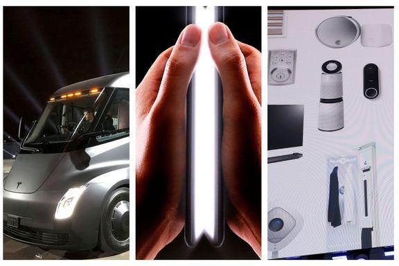 Brettbar mobil, flere elbiler og digitale assistenter - men selvkjørende biler drøyer
