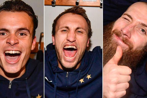 Tre nordmenn jublet for svensk seriegull