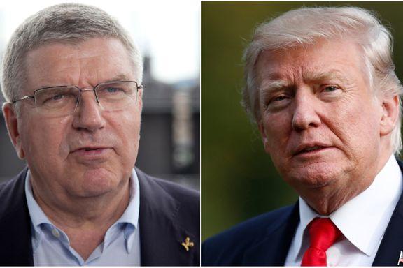 Nord-Korea og svakt billettsalg bekymrer før OL. Nå har IOC snakket med Donald Trump.