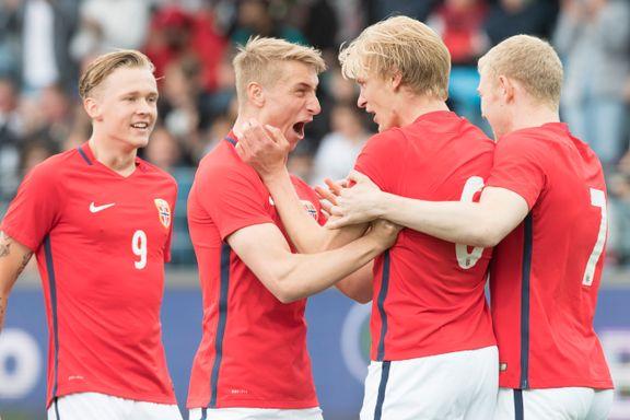DIREKTE: Drømmestart for Norge