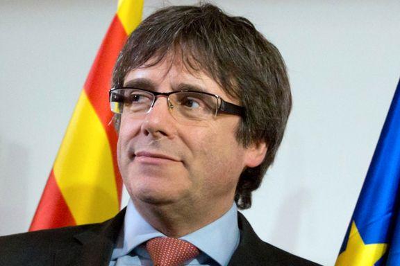 Tysk påtalemyndighet vil utlevere Catalonias avsatte president til Spania