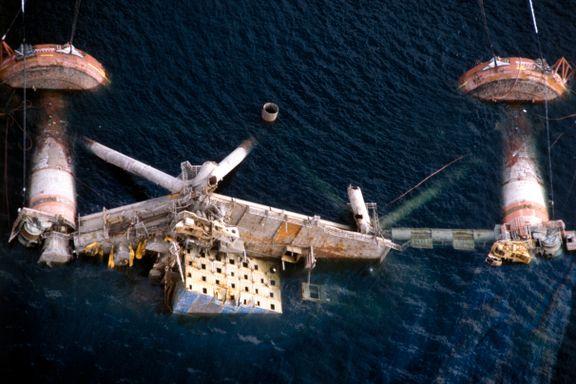 Nye vitneopplysninger om plattformkatastrofen i Nordsjøen: – Ulykken skjedde like etter at jeg løsnet gangbroen