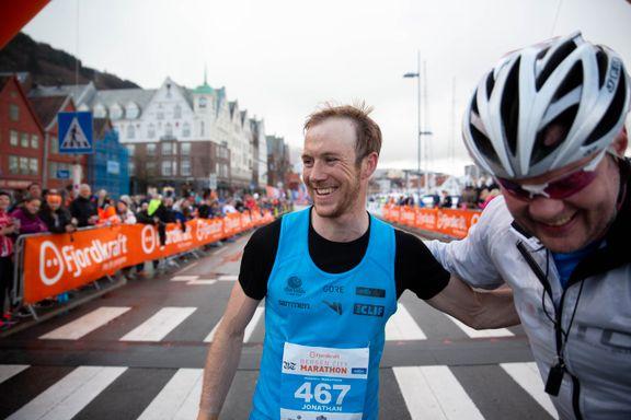 Se deg selv og vennene dine gå i mål i Bergen City Marathon
