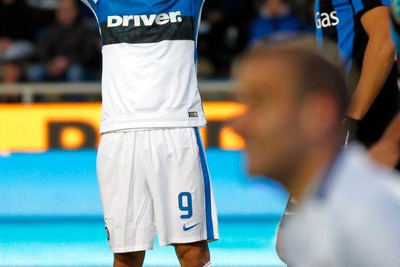 Inter skuffet borte mot Atalanta