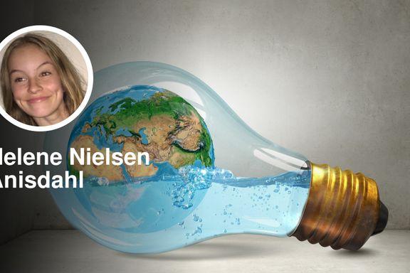 Man vil ikke ha bruk for penger mens verden står i flammer   Helene Nielsen Anisdahl