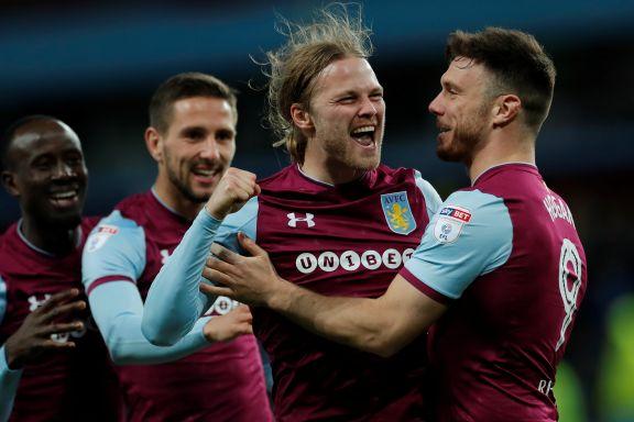 Tidligere Viking-helt sendte Aston Villa litt nærmere Premier League