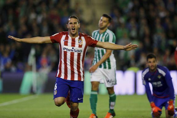Atlético passerte byrival Real etter borteseier