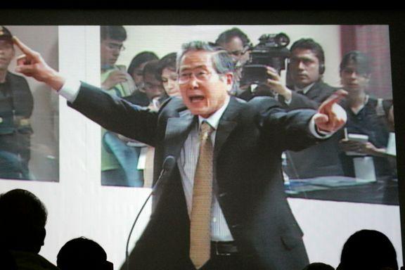 Perus president benåder Fujimori