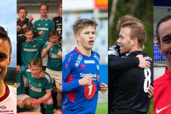 Drama i 4. divisjon: Fire poeng skiller de fem topplagene før innspurten