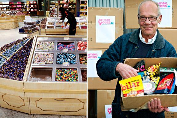 Han får 12 millioner for å satse større på tollfri norsk godteriimport fra Sverige