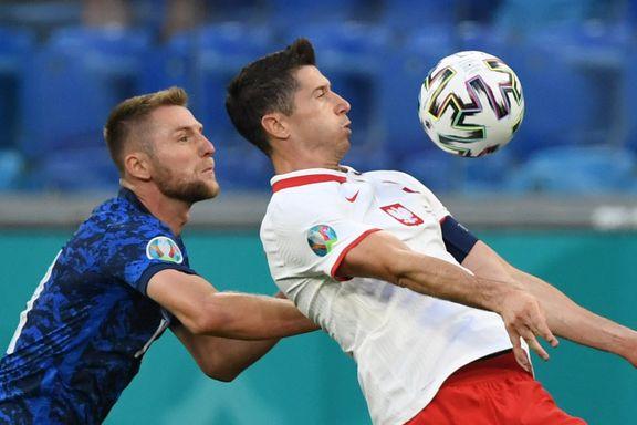 Slovakia temmet Lewandowski og slo Polen