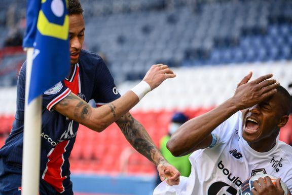 Neymar utvist da PSG tapte toppkampen