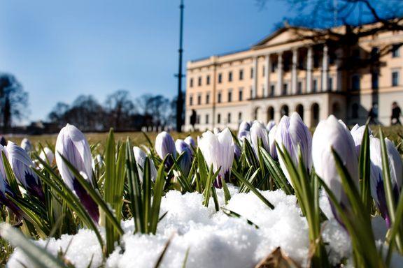 Våren lar vente på seg. Snø og minusgrader er på vei.