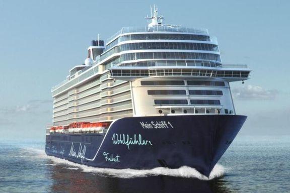 Passasjerene kan gå fritt i land når det første store cruiseskipet legger til kai i Bergen