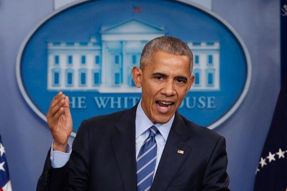 Obama tar farvel med tale i Chicago