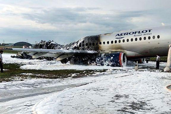 Flyvertinne om evakueringen: – Enkelte måtte jeg dra ut etter kragen.