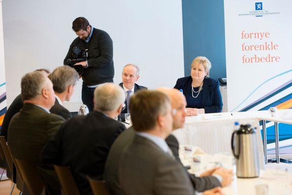Kommunesamanslåing: Noreg har demokrati, seier du?