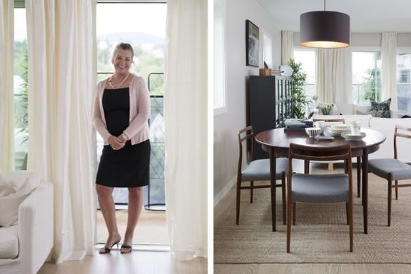 Flyttet til nybygg: Slik skapte Anne Lise et personlig hjem i den nye leiligheten