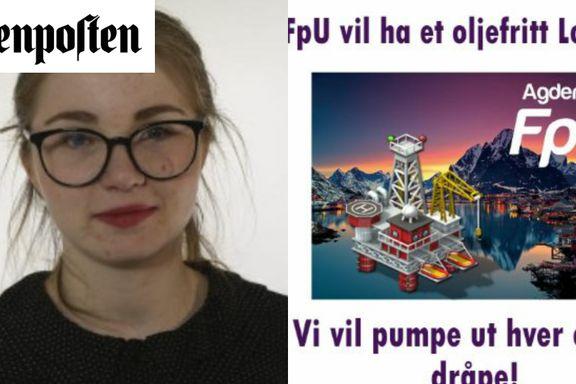 Nei, FpU. Olje er ingen jobbgaranti.