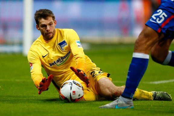 Jarstein gjorde det ingen andre Bundesliga-keepere har klart denne sesongen