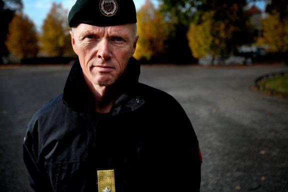 Robert Mood kritisk til Regjeringens forsvarsplan: - Vi må aldri signalisere at vi ikke er klare til å kjempe for hver kvadratmeter av Norge.