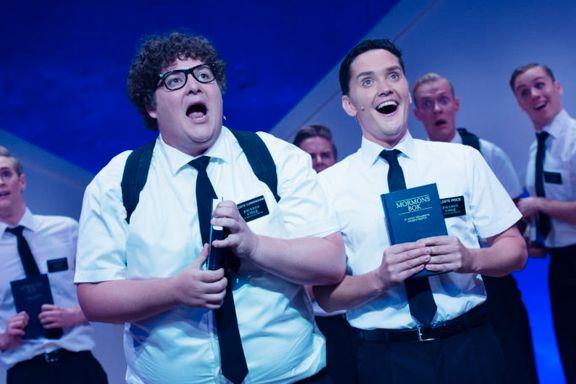 «The Book of Mormon» sikret det beste året i teaterets historie