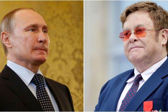 Superstjernen anklaget Putin for dobbeltmoral. Slik svarer han på kritikken.
