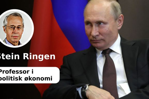 Hva er det Putin prøver på når han raserer etablerte internasjonale lover og regler ?