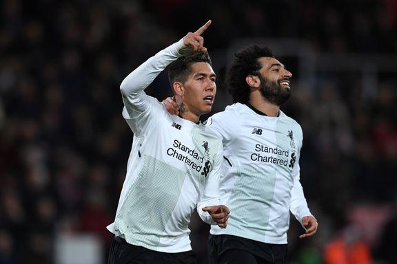 Liverpool herjet med Bournemouth i målshow