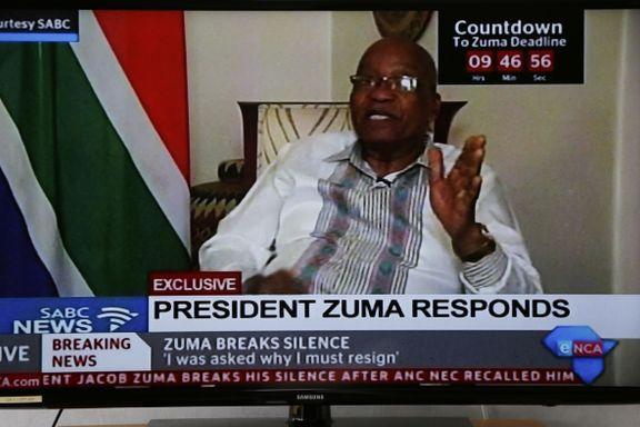 Zuma: – Veldig urettferdig