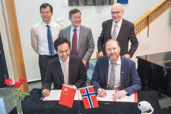 Norsk sjømat ut til nettkunder i hele Kina