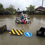 Thailand slapp lettere fra storm enn fryktet