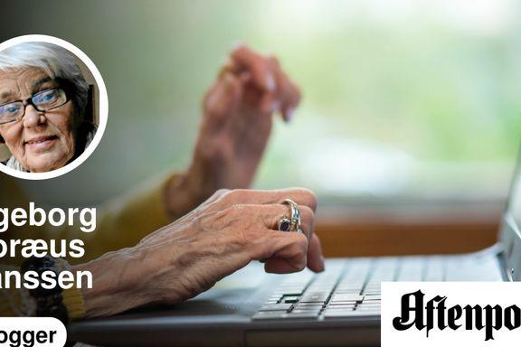 De eldre må delta i sosiale medier | Ingeborg Moræus Hanssen