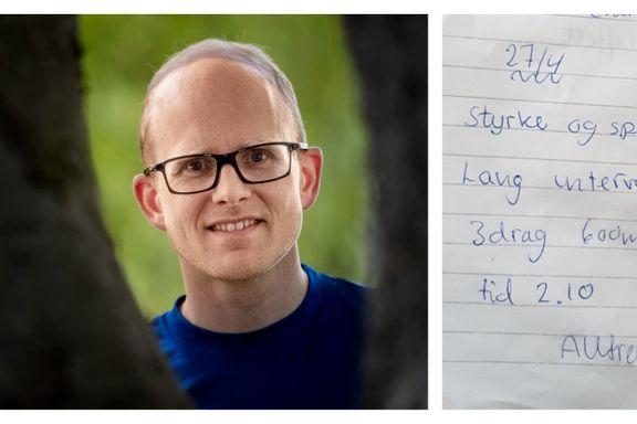 Allerede som barn skrev Øyvind Sandbakk (39) opp treningen sin. Nå blir han sjef for anerkjent magasin.