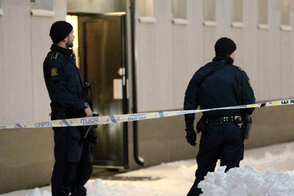 Mann i 40-årene pågrepet for Ski-bomben etter stor politiaksjon