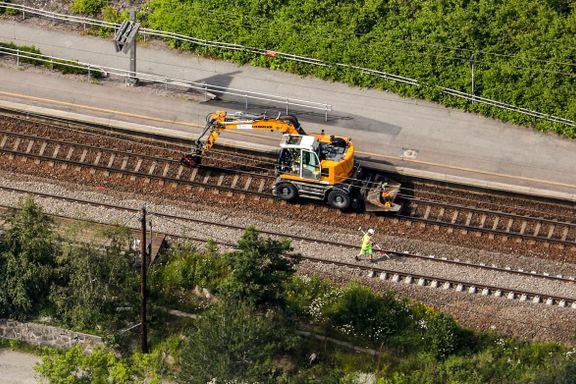 Signalfeil på Østfoldbanen på femte dagen – vet ikke når feilen blir rettet