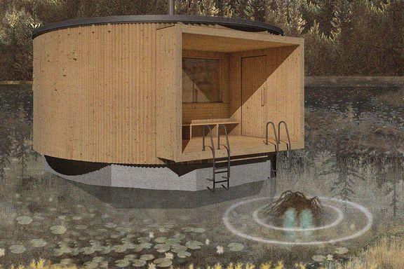 Oslo Badstuforening har fått penger til ny badstue på Sognsvann