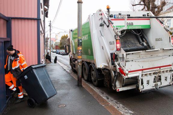 Private aktører stenges ute fra Oslos søppelmarked i fire år til