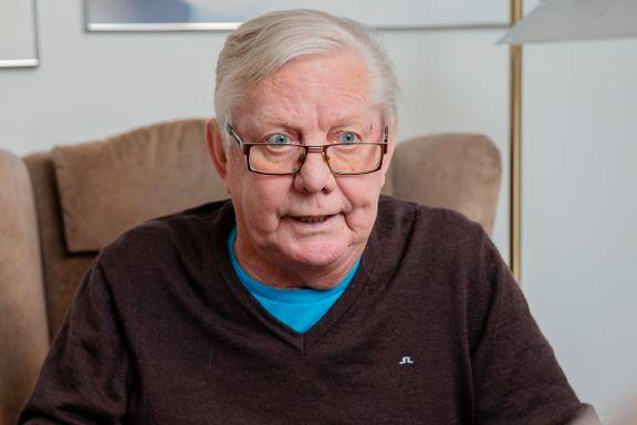 Nils Arne Eggen omfavner Horneland-ansettelsen