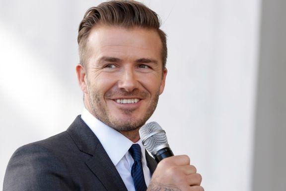 Beckhams store drøm ble oppfylt: Starter lag i USAs fotballiga