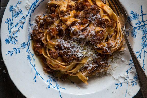 Prøv deg på kongen av pastasauser