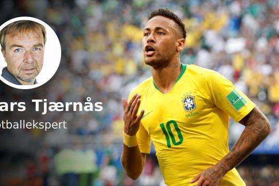 Det er mange meninger om Neymars overdrevne filming. Det er kun én ting å si om ham som fotballspiller.